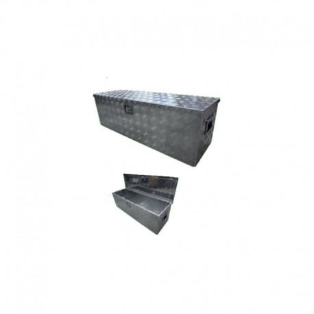 Coffre de rangement aluminium 1230x380x380 mm
