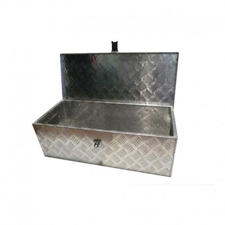Coffre de rangement aluminium 760x330x245 mm