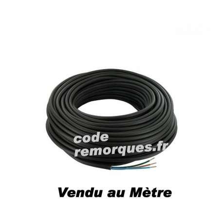Câble électrique 7x1,50mm²