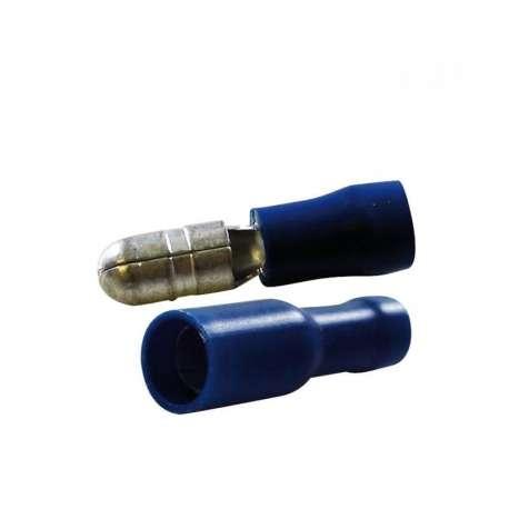 Assortiment 18 cosses rondes mâle/femelle D.5mm