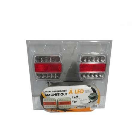 Kit éclairage magnétique LED, 12m de câble