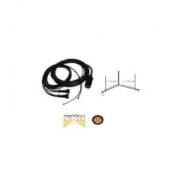 Faisceau électrique Aspöck 5,10m avec extensions 3m
