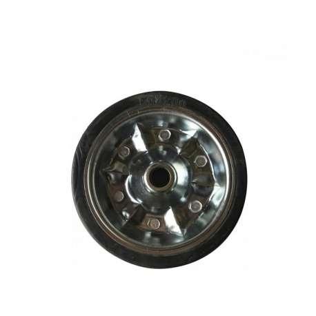 Galet de roue jockey 200x65 acier