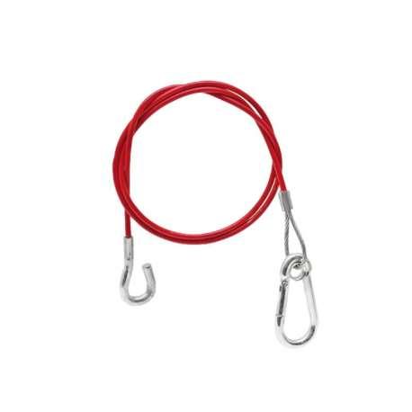 Câble de rupture 1000mm mousqueton + anneau