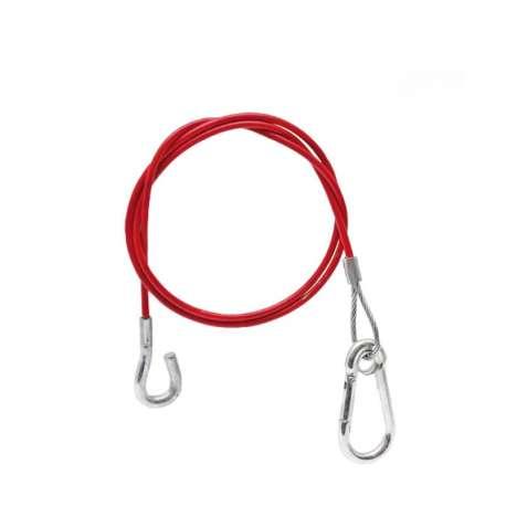 Câble de rupture 1600mm mousqueton + crochet