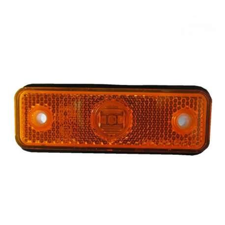 Feu de position LED, orange 12V