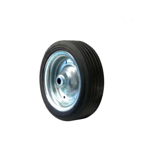 Galet de roue jockey télescopique acier