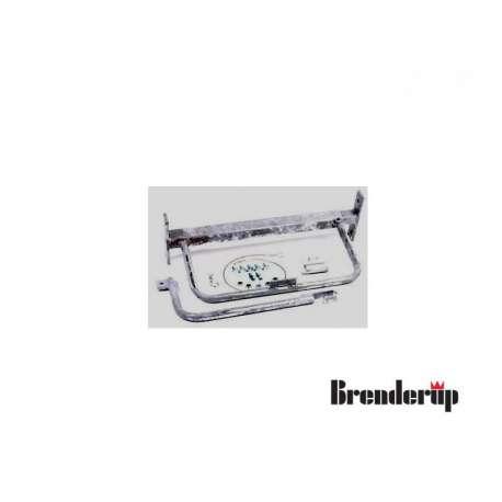 Support de roue de secours tri-benne Brenderup