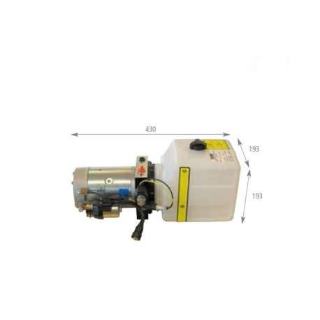 Centrale hydraulique réservoir 4 litres