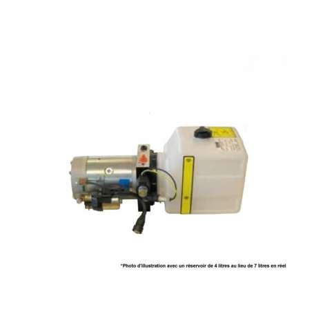 Centrale hydraulique réservoir 7 litres