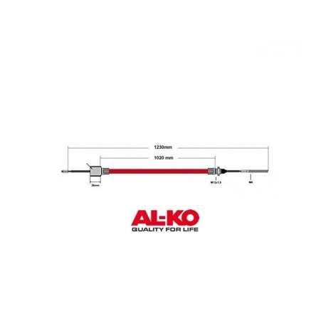 Câble de frein ALKO 1020/1230mm cloche 26mm