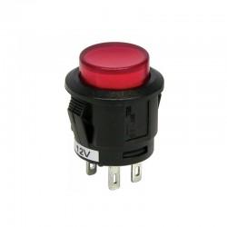 Interrupteur à bascule LED rouge
