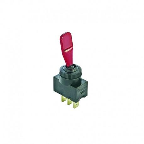 Interrupteur à bascule lumineux remorque