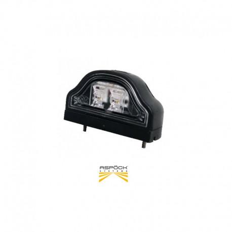 Eclaireur de plaque Regpoint II LED Aspöck