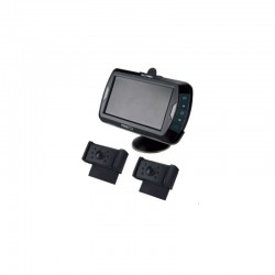 Caméra de recul sans fil, avec 2 caméras couleurs