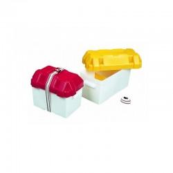 Caisse en plastique pour batterie 390x190x200mm