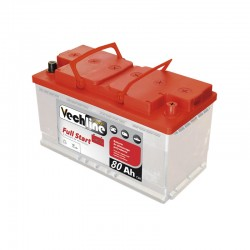Batterie Full start 80Ah 670A Vechline