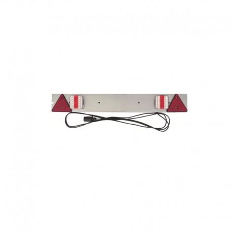 Rampe d'éclairage LED galva pour remorque