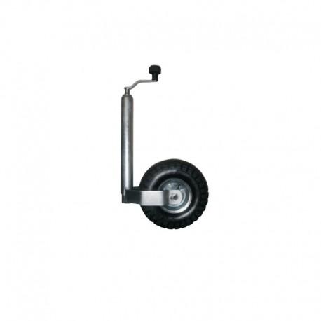 Roue Jockey gonflable diamètre 48mm Galet 260x85