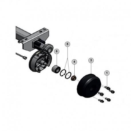 tambour frein knott 250x40 type 25-2025