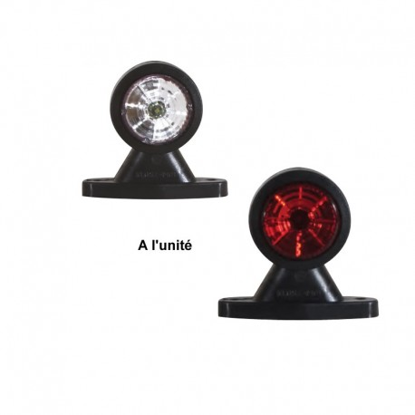 Feu de gabarit blanc LED 12/24V Resma