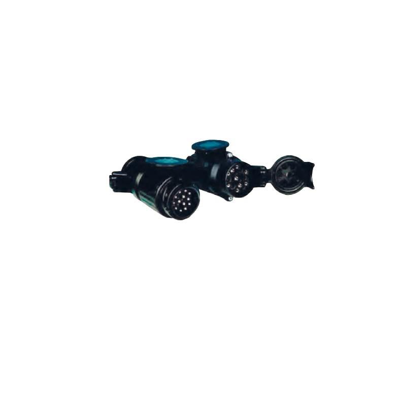 répliques style attrayant Braderie Adaptateur 13 broches voiture à multicon remorque ou caravane