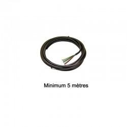 Câble électrique 13 conducteurs 9 x 1,5mm² + 4 x 2,5mm²