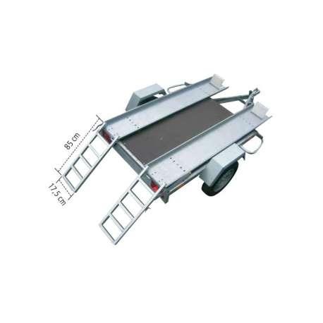 Paire de rampes de montée pour porte-quad