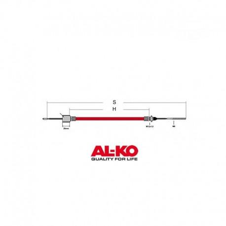 Câble de frein ALKO 890/1100mm cloche 26mm exterieur