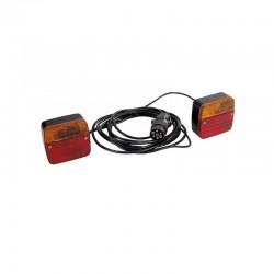 eclairage magnetique remorque 4m feu standard