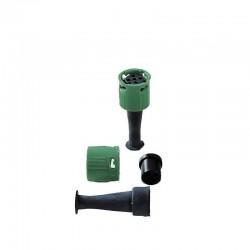 Connectique verte ronde complète pour feu Aspock/Dafa
