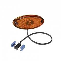 Feu de position latéral Aspock Flatpoint II LED orange