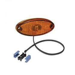 Feu de position latéral Aspock Flatpoint II LED orange