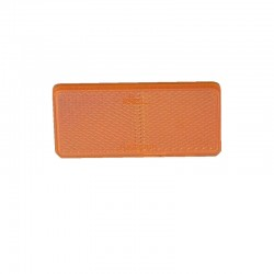 Catadioptre rectangulaire AJBA orange
