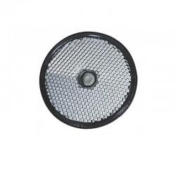 Catadioptre blanc autocollant ou à visser Ø 60mm