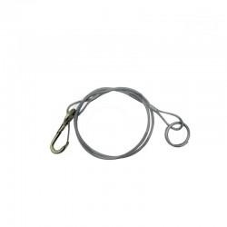 Câble de rupture AL-KO 1200mm mousqueton + anneau