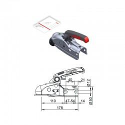 Boîtier d'attelage freiné AL-KO AK161 avec Soft-Dock