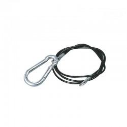 Câble de rupture 1850mm mousqueton + anneau