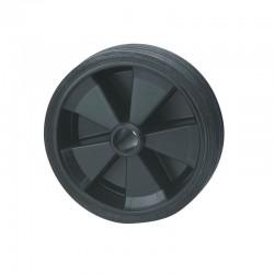 Galet de roue jockey 160x40 plastique