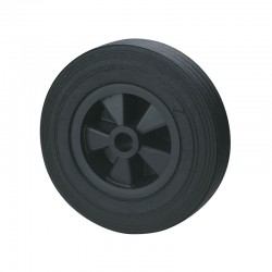 Galet de roue jockey 200 x 50 plastique