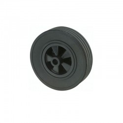 Galet de roue jockey 220x65 plastique
