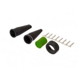 Connection verte ronde complète pour feu - 8 broches