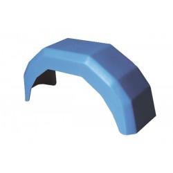 Garde boue plastique Bleu rond 10 pouces