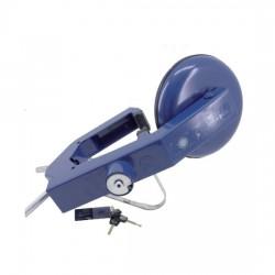 Antivol sabot de roue bleu