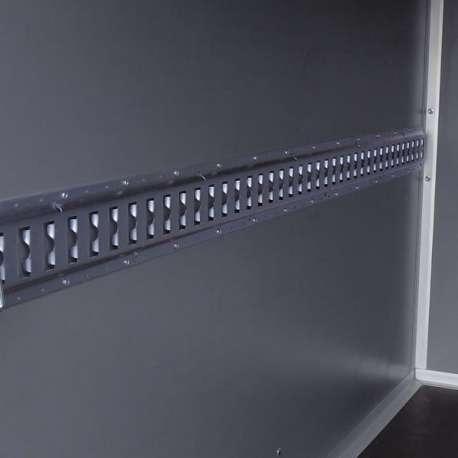 Rail d'arrimage 3m pour remorque et fourgons