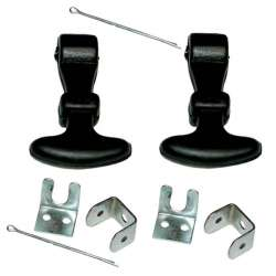 Lot de 2 attaches capot 65mm