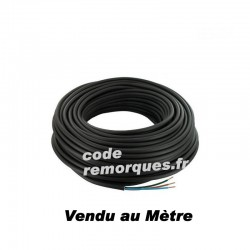 Câble électrique 2x1mm²
