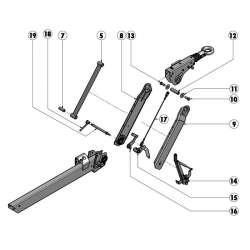 Câble de transmission AL-KO 161 VB2 / 251 VB2
