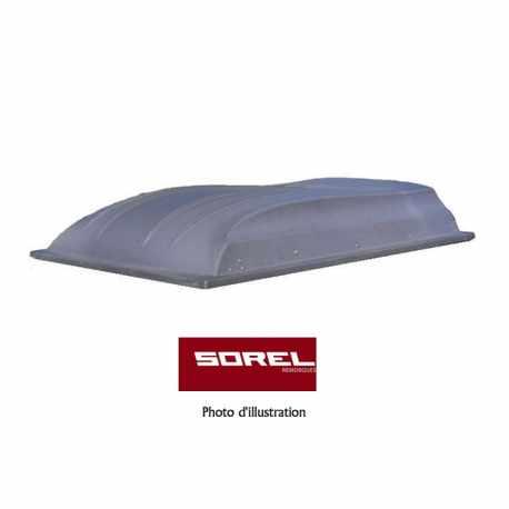 Capot ABS remorque Sorel 2360x1290 mm
