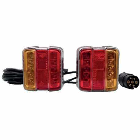 Kit éclairage magnétique LED, 7,5m 12V